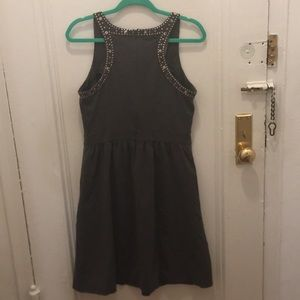 Cynthia Rowley Dresses - Gray dress 👗 with studs